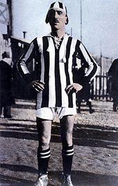 Carlo Bigatto, il primo capitano bianconero.