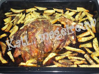 LAMB IN OVEN WITH POTATOES. ΑΡΝΑΚΙ ΓΑΛΑΚΤΟΣ ΣΤΟ ΦΟΥΡΝΟ ΜΕ ΠΑΤΑΤΕΣ ΦΟΥΡΝΟΥ ΣΑΝ ΤΗΓΑΝΙΤΕΣ.