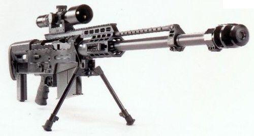 8. Accuracy International AS50 Sniper Rifle