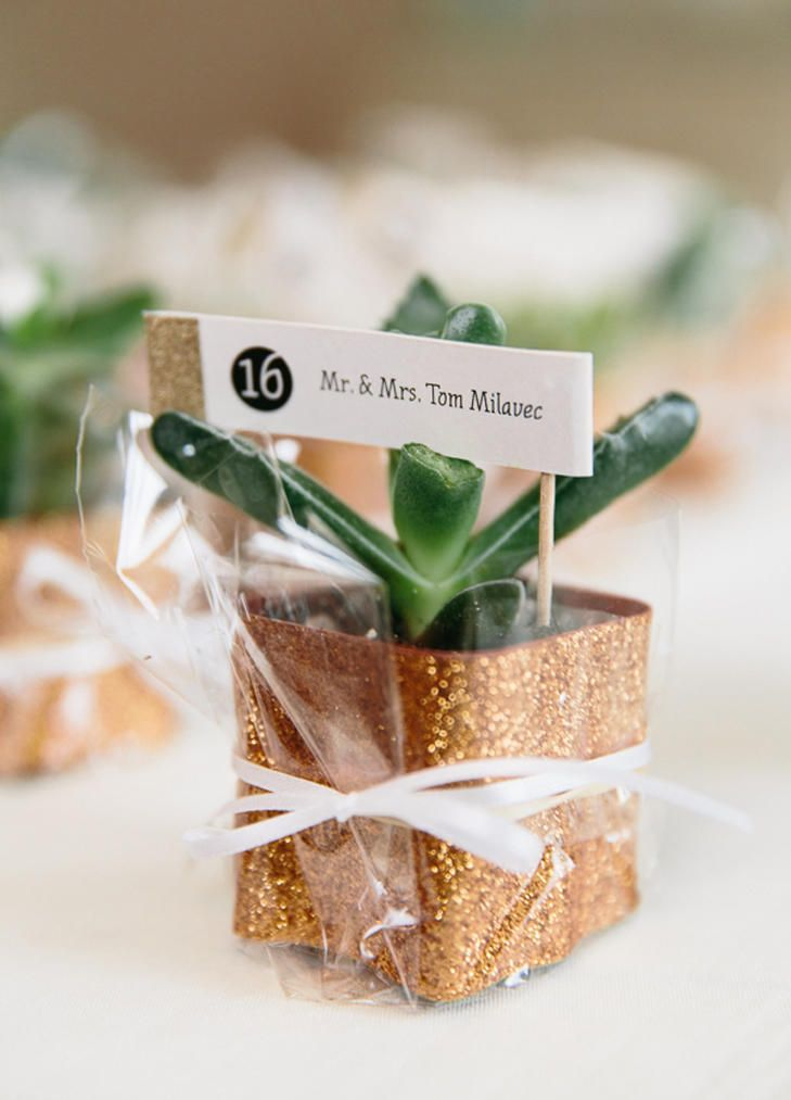 10 Grown-Up Ways to Use Glitter At Your Wedding  | TheKnot.com