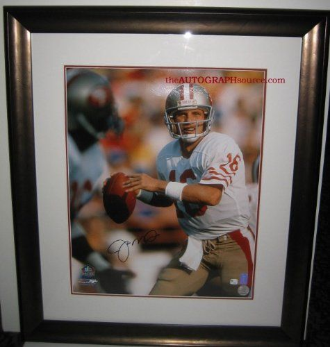 Joe Montana Signed Photograph ** Check this awesome product by going to the link at the image.