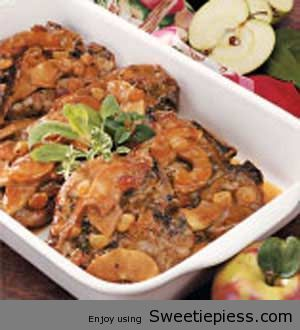 SMOTHERED PORK CHOPS BY SWEETIE PIE'S FAMILY