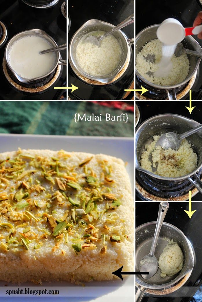 how to make malai barfi (milk cake / palakowa)