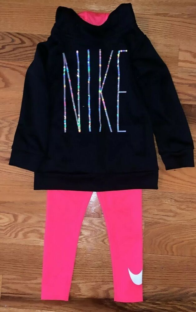 b36a3b7a3e Details about Girls Nike Clothing Outfit Set Size 4 | Girls Clothing ...