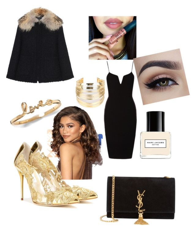"""""""Red carpet"""" by fashion-girl-katrina on Polyvore featuring Oscar de la Renta, Andrew Gn, Yves Saint Laurent, Marc Jacobs, WithChic, women's clothing, women, female, woman and misses"""