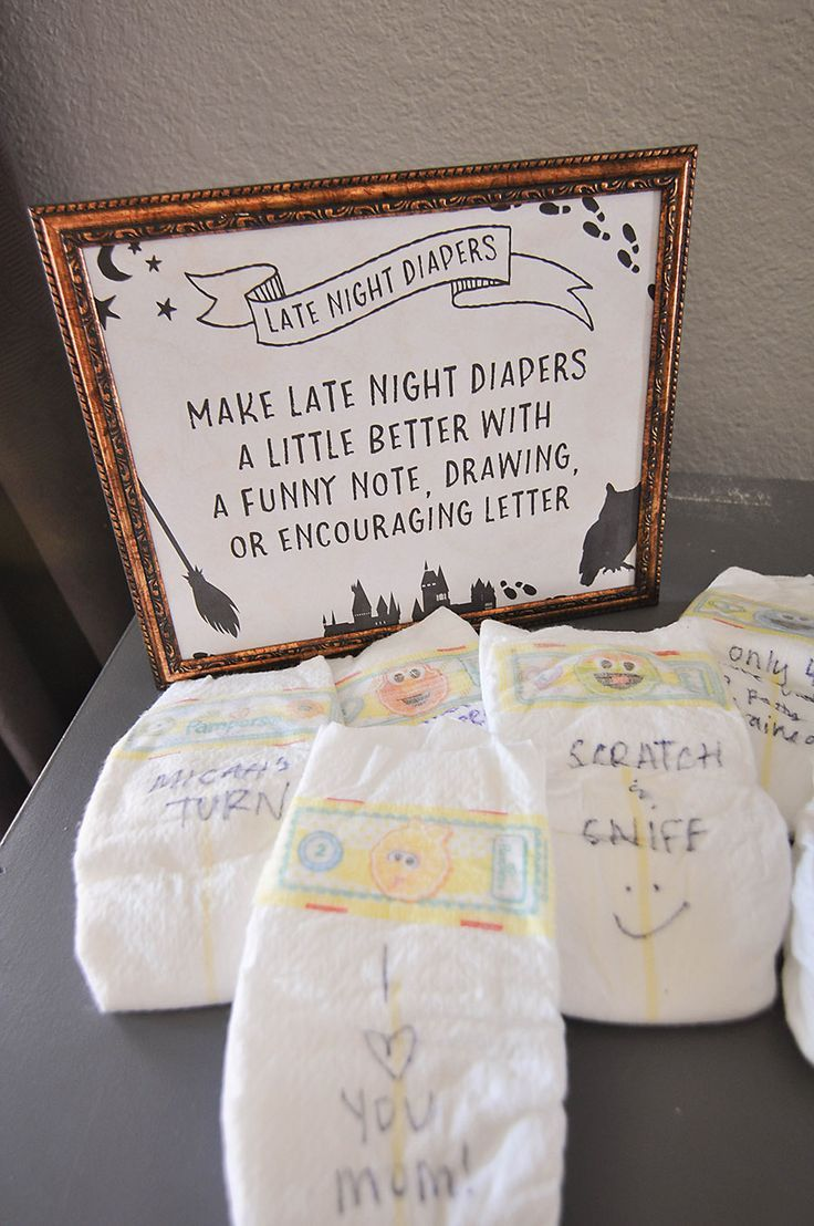 Harry Potter Baby Shower Ideas & Free Printables – Diapers – Ideas of Diapers #D…