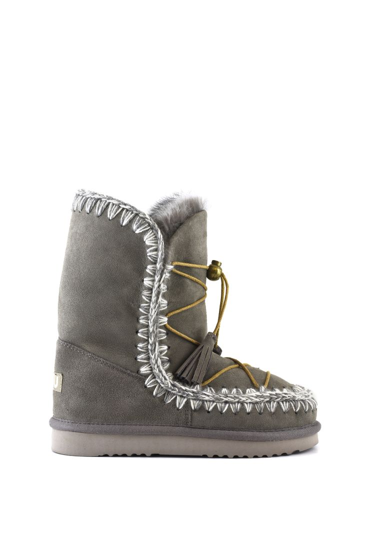 Mou Eskimo Dreamcatcher Boots Women New Grey - mou