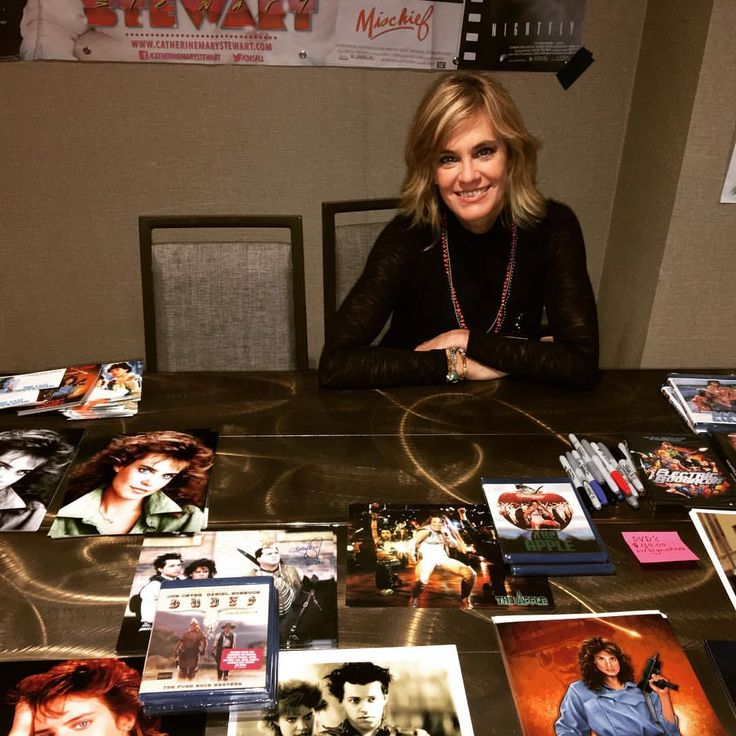 """100 Likes, 8 Comments - Catherine Mary Stewart (@catherinemarystewart) on Instagram: """"Day One: Chiller Theatre! Parsippany, NJ."""""""