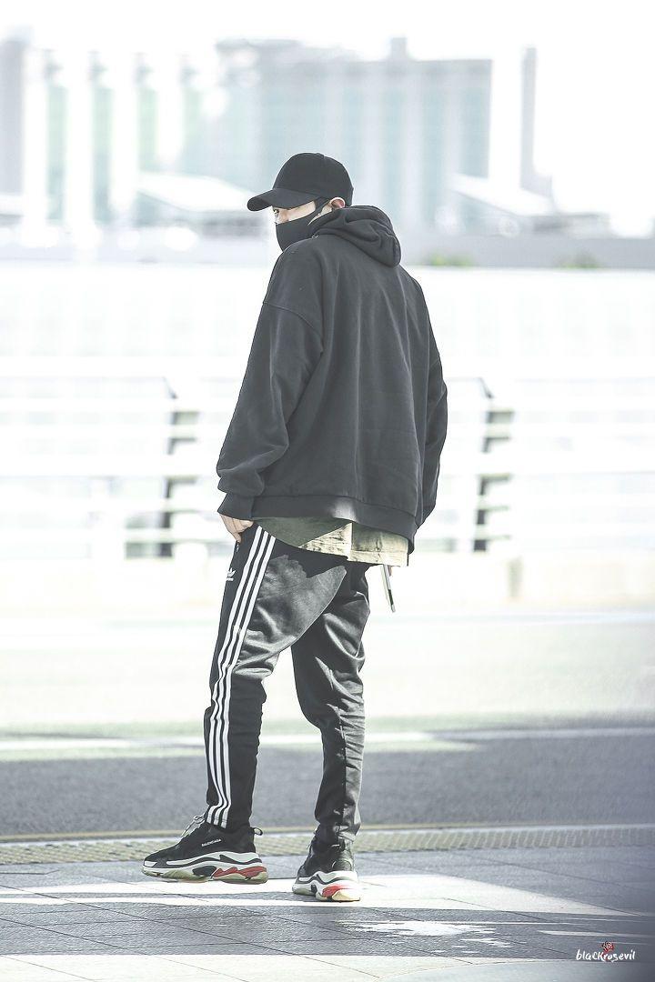 [HQ] 180302 - #Chanyeol ai airport by Blackrosevil