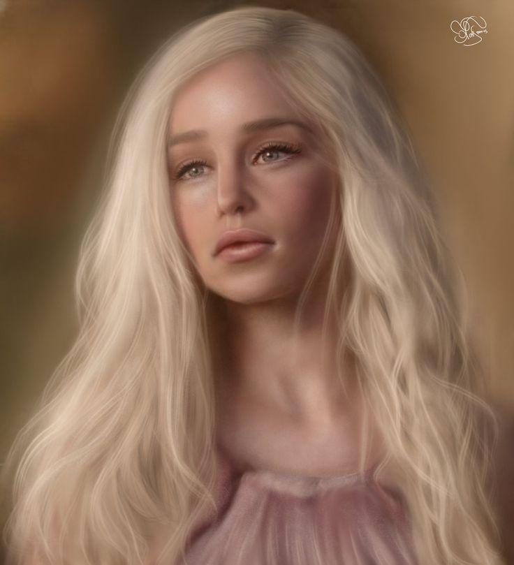 Daenerys Targaryen - Game of Thrones by iCookieday.deviantart.com on @DeviantArt