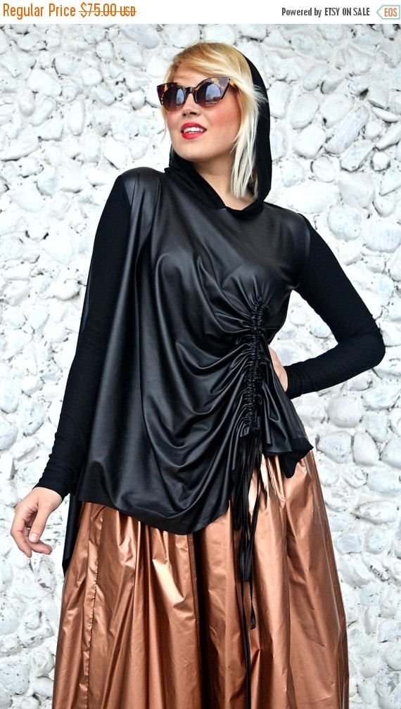 Just in: SALE 25% OFF Extravagant Black Top / Funky Hooded Top / Black Hooded Blouse / Asymmetrical Hooded Blous... https://www.etsy.com/listing/508568191/sale-25-off-extravagant-black-top-funky?utm_campaign=crowdfire&utm_content=crowdfire&utm_medium=social&utm_source=pinterest