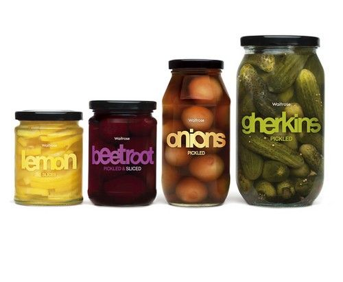 Pickled veggies, Waitrose