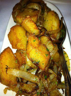 Morton's Steakhouse Copycat Recipes: Lyonnaise Potatoes