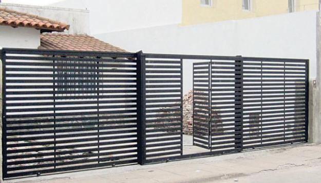 Puertas y portones herreria 625 356 for Barandillas exterior baratas