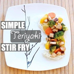 Simple Teriyaki Stir Fry by Of Houses and Trees   A super simple, super delicious, super nutritious version of a healthy veggie stir fry that's easy to customize. Let the sauté-ing begin! Click through to read more on this project as well as posts about architecture, interior design and sustainability at www.ofhousesandtrees.com.