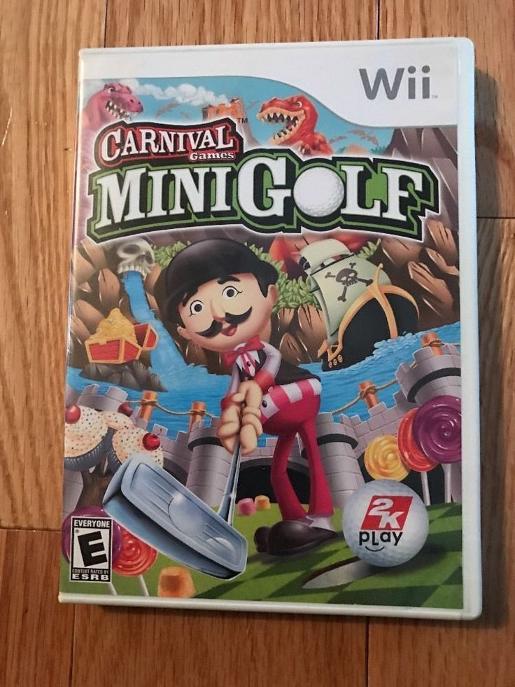 Carnival Games: Mini-Golf (Nintendo Wii, 2008) 710425344510 | eBay