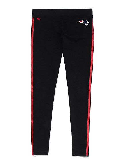 New England Patriots Bling Legging PINK. The legging you love—with tons of  sparkle and your team graphics to show off on game day.