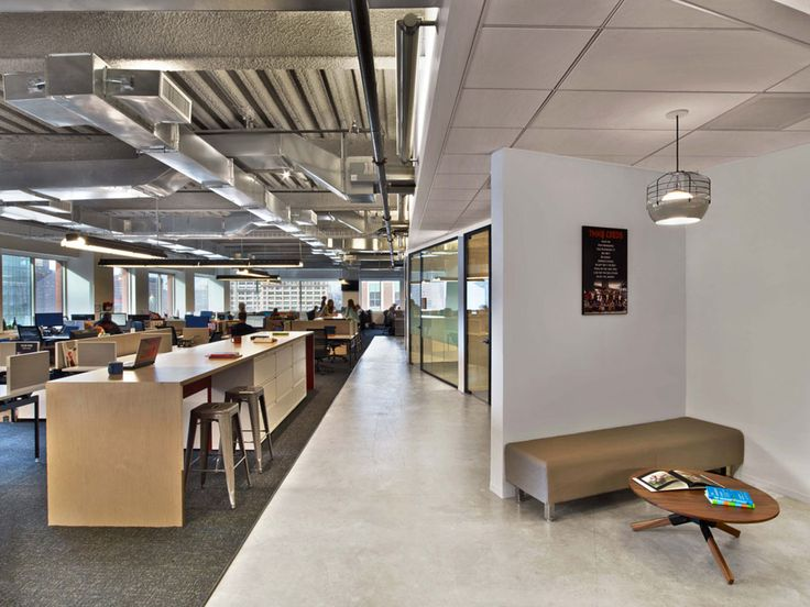 Best 25 industrial office space ideas on pinterest for Open space interior design