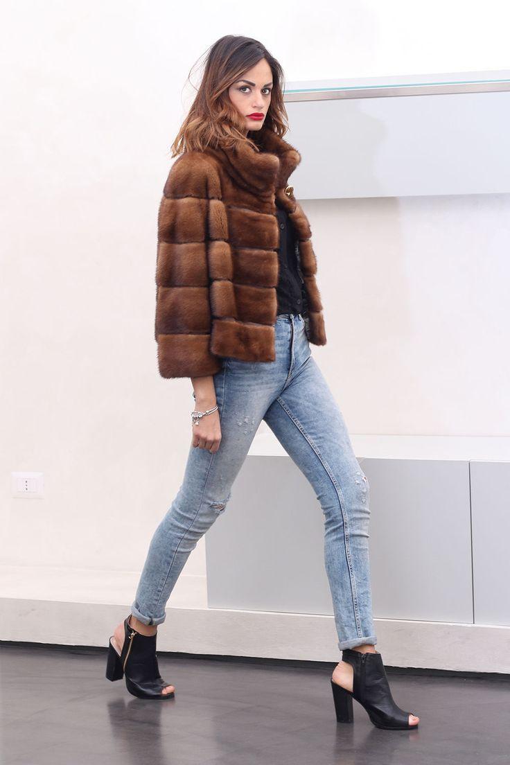 Fur Coat Jacket Mink Pelz Pelzmantel Nerz Fourrure Pelliccia Visone МЕХ НОРКА | eBay