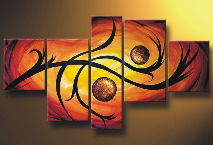 Cuadro abstracto moderno.