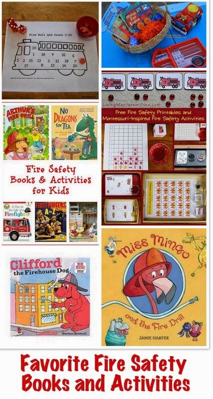Fire Prevention Week: Fire Safety Tips + Our Favorite Books and Activities for Fire Prevention Week #firesafety #firepreventionweek