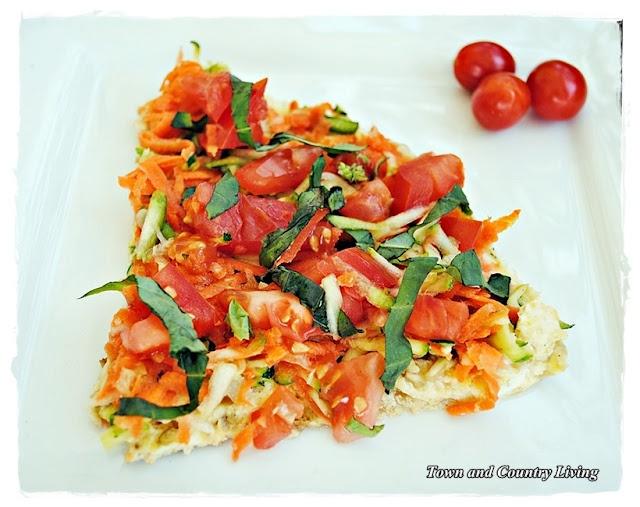 Healthy vegetable frittata