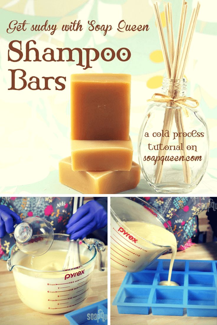 cool Sudsy Shampoo Bars