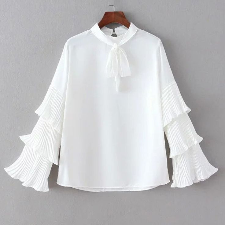 Like and Share if you want this  Women Spring White Chiffon Blouses Vintage Long Tiered Flare Sleeved Neck Draw String Pullover Tops Chiffon Shirts & Blouses     Tag a friend who would love this!     FREE Shipping Worldwide     Get it here ---> https://ihappyshop.com/women-spring-white-chiffon-blouses-vintage-long-tiered-flare-sleeved-neck-draw-string-pullover-tops-chiffon-shirts-blouses/