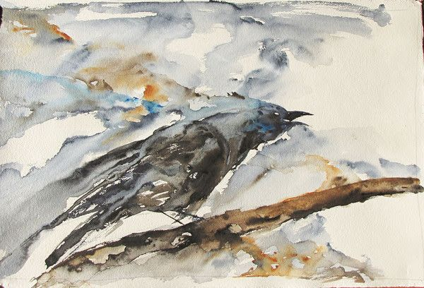 Crow Call - Limited Edition Print – Roderick MacIver Arts