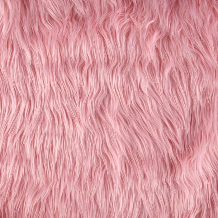 Shannon Faux Fur Mongolian Pink Vests Jackets And Animals