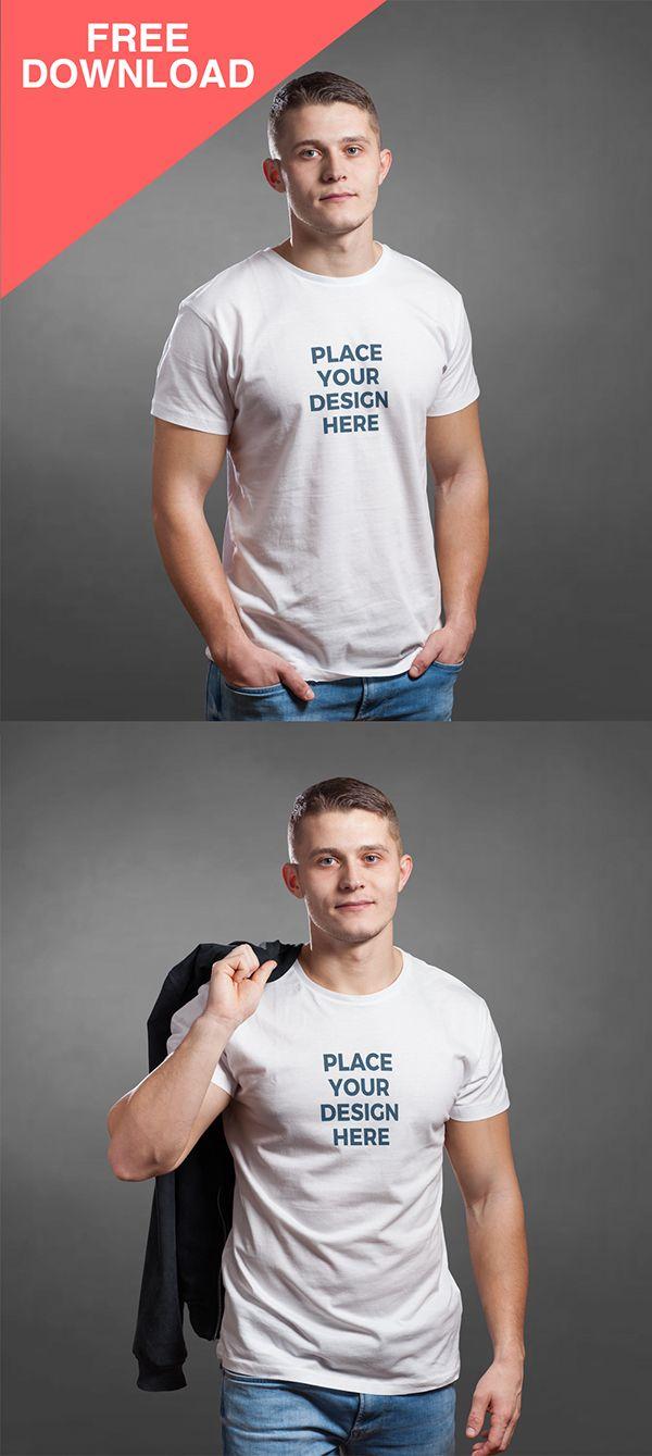 Download Free T Shirt Mockup Templates Freebies Graphic Design Junction Shirt Mockup Tshirt Mockup Clothing Mockup