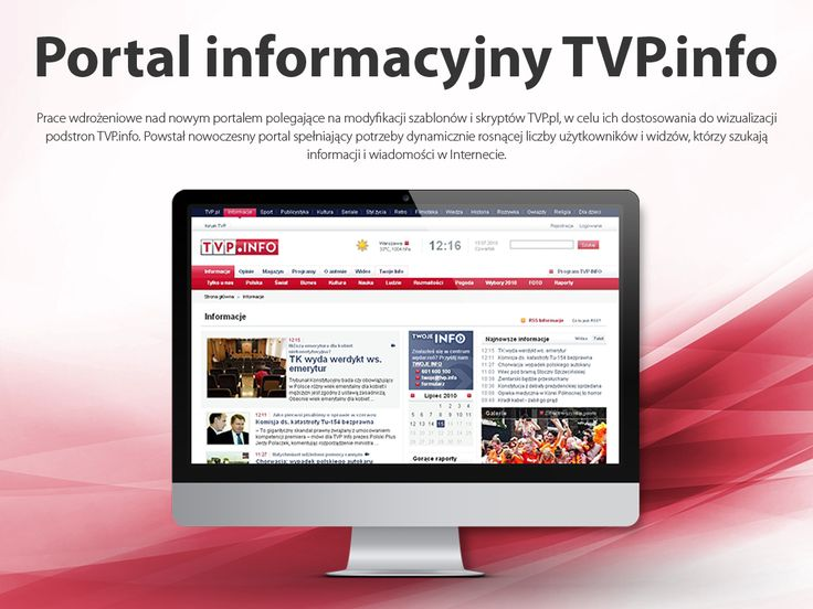 Portal informacyjny TVP.info.
