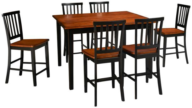 Intercon Arlington Arlington 7 Piece Dining Set