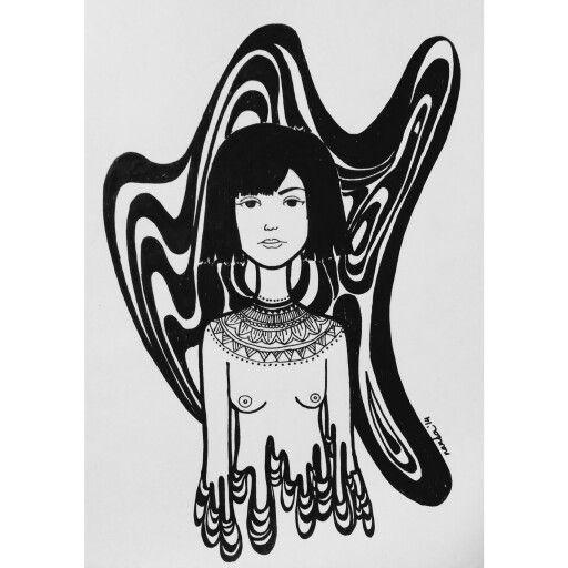 "Illustration ""halusi"" 2014"
