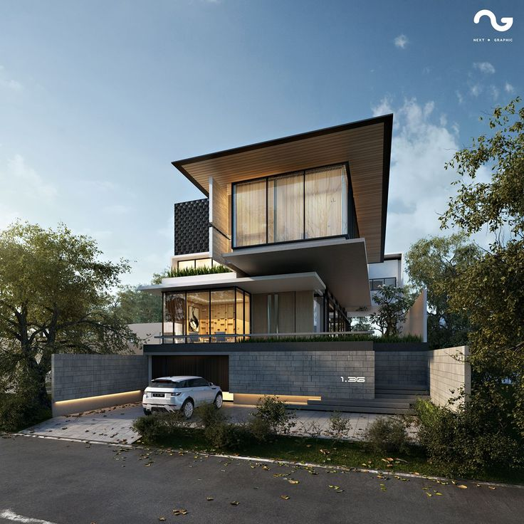 Bukit Golf Mediterania PIK House 3D Rendering with Max, Vray, PS