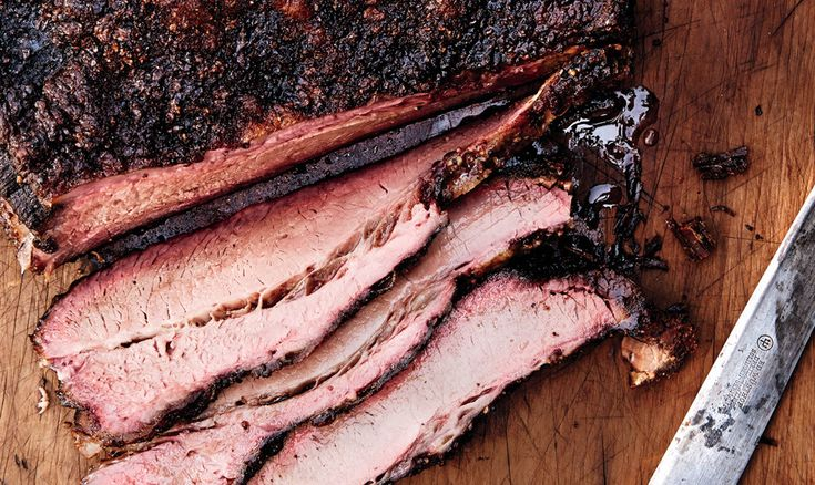 "Beef brisket and a backyard smoker: It doesn't get any more ""Texas"" than that."