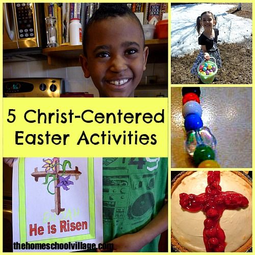 5 Christ-Centered Easter Activities