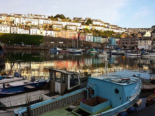 Phone capture Brixham Harbour