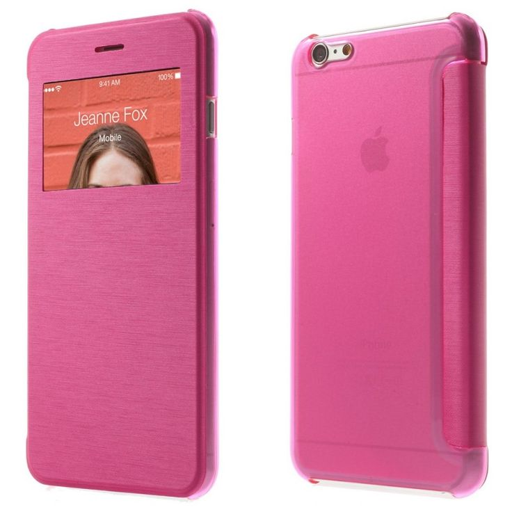 Etui Folio iPhone 6 Plus - Rose
