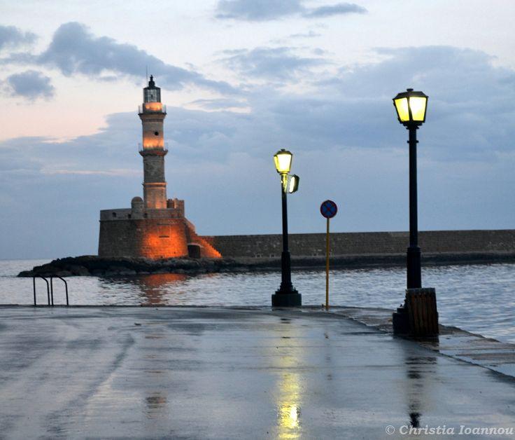 @ Chania, Crete ~ Ένα χειμωνιάτικο, βροχερό απόγευμα..