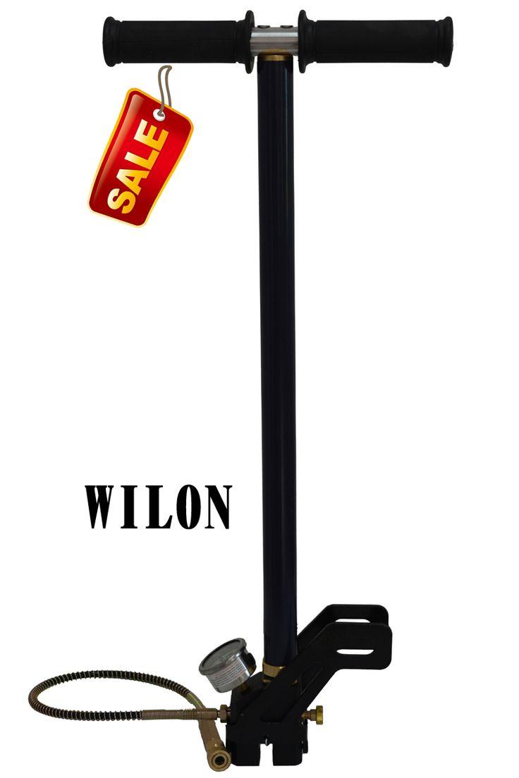 WILON Bomba PCP Rifle de Aire 4500psi Bomba Manual de Alta Presión 300bar