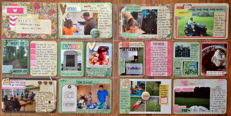 Week 21 by MiaKL for Scrap-Perra using the mini kit Flea Market from Becky Higgins