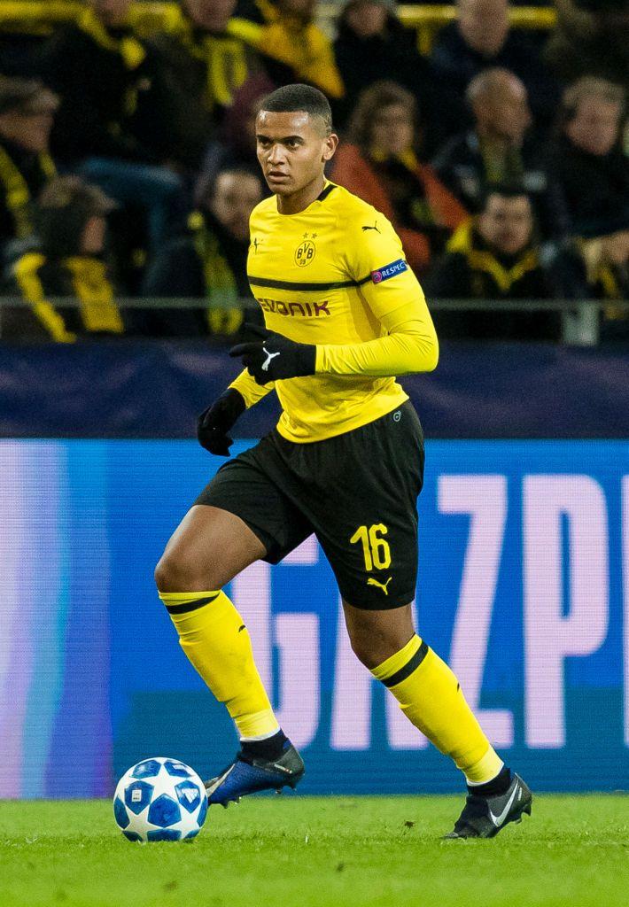 Dortmund Germany November 28 Manuel Akanji Of Borussia Dortmund In Action During The Uefa Champions League Dortmund Borussia Dortmund Uefa Champions League