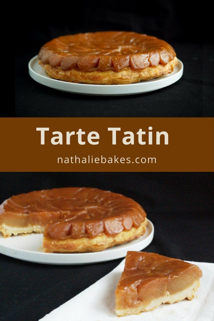Tart Tatin must be one of my favourite desserts all time: caramelised melt-in-your-mouth apples with a buttery puff pastry. Great recipe! | nathaliebakes.com