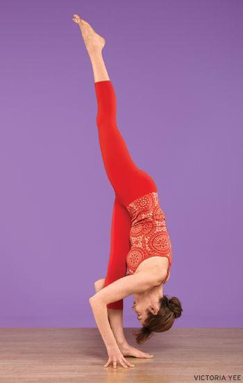 Urdhva Prasarita Ekapadasana (Standing Split). Learn how: www.yogajournal.com/practice/2880