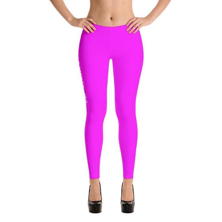 Fucsia-Pink Leggings