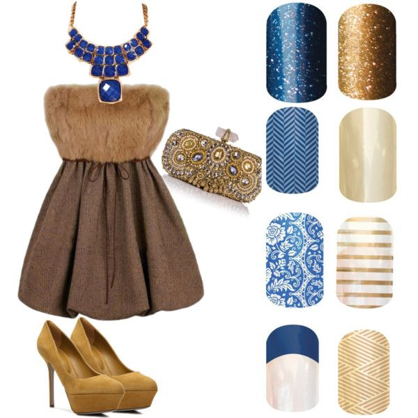 Jamberry Nails Disney prom project - Polyvore
