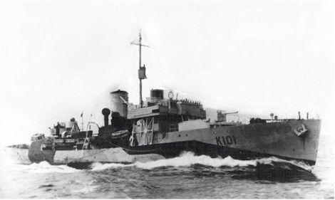 HMCS Nanaimo K101