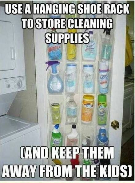 Five Quick and Easy Cleaning Tips! #organization #ideas #cleaning