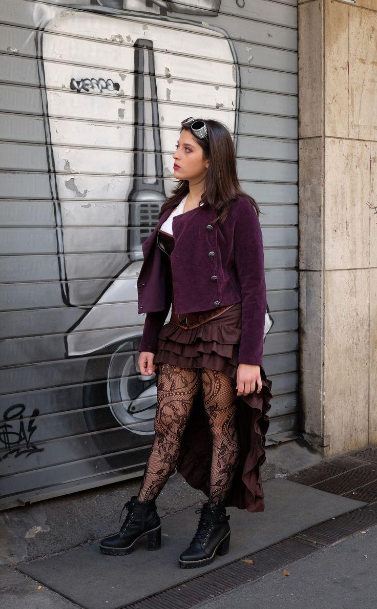 Steampunk vintage  Cosplayer: Giulia Leanza instagram: leaxya Ph. Massimiliano Valentini
